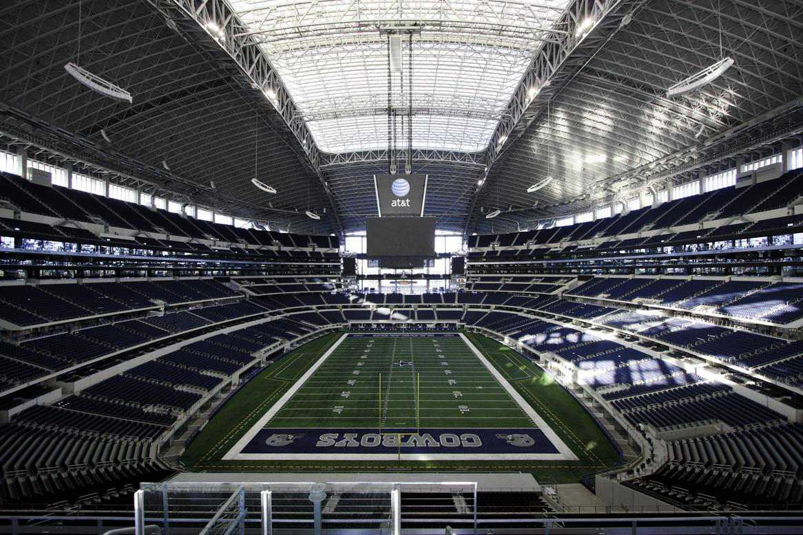 Inside AT&T Stadium