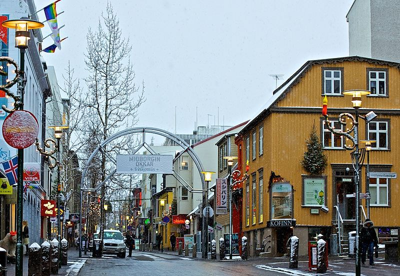 Laugavegur, Shopping Street