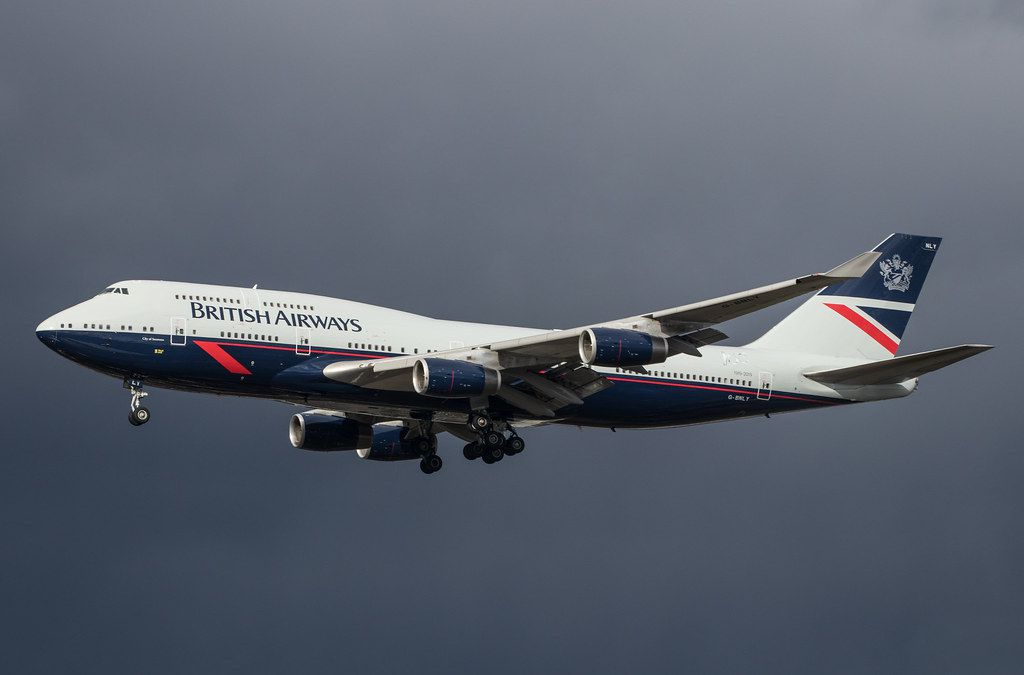 British Airways en el aeropuerto de Heathrow, Londres