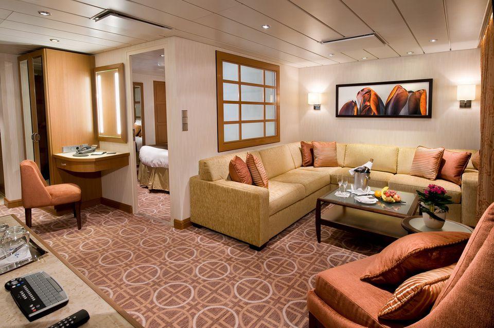 Celebrity Cruises' Suite Class on Celebrity Eclipse ...