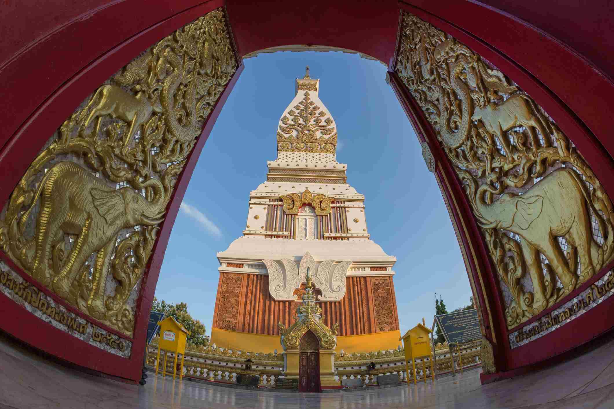 Stupa of Wat Phra That Phanom