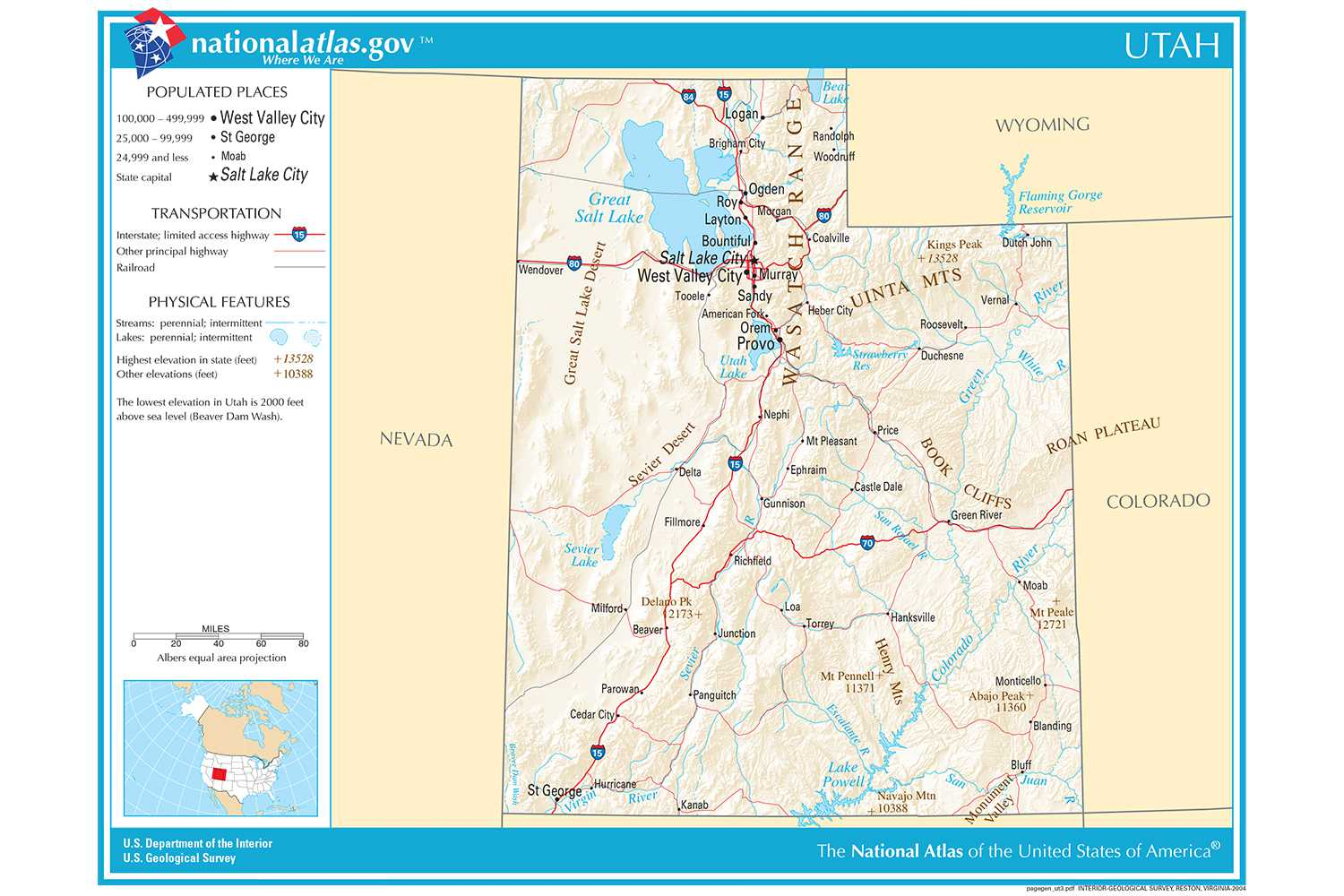 Pueblos New Mexico Map.Maps Of The Southwestern Us For Trip Planning
