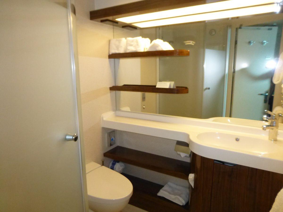 Norwegian Breakaway Oceanview Cabin Bathroom