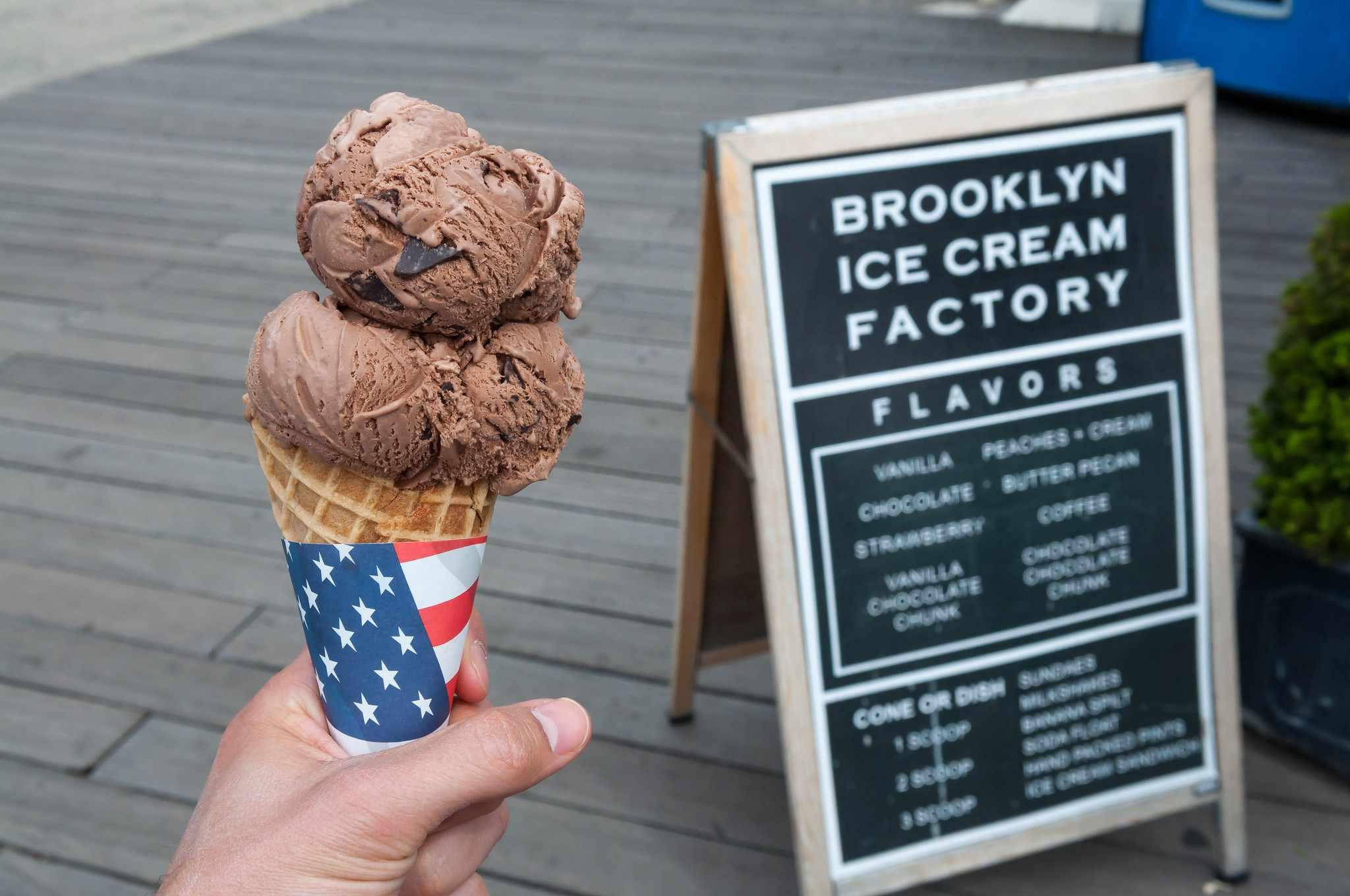 Brookyln Ice Cream Factory