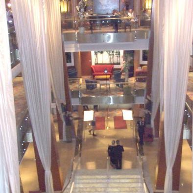 Celebrity Infinity Grand Staircase and Atrium