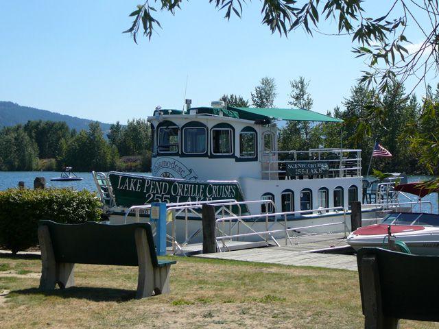 Lake Pend Oreille Cruise Boat