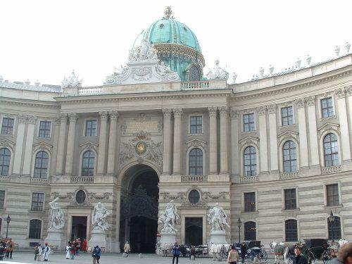 Palacio de Hofburg en Viena, Austria