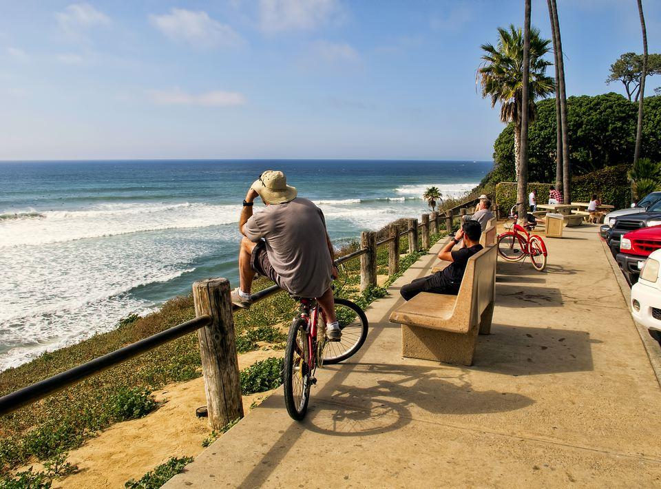 Surf Spot in Encinitas, California