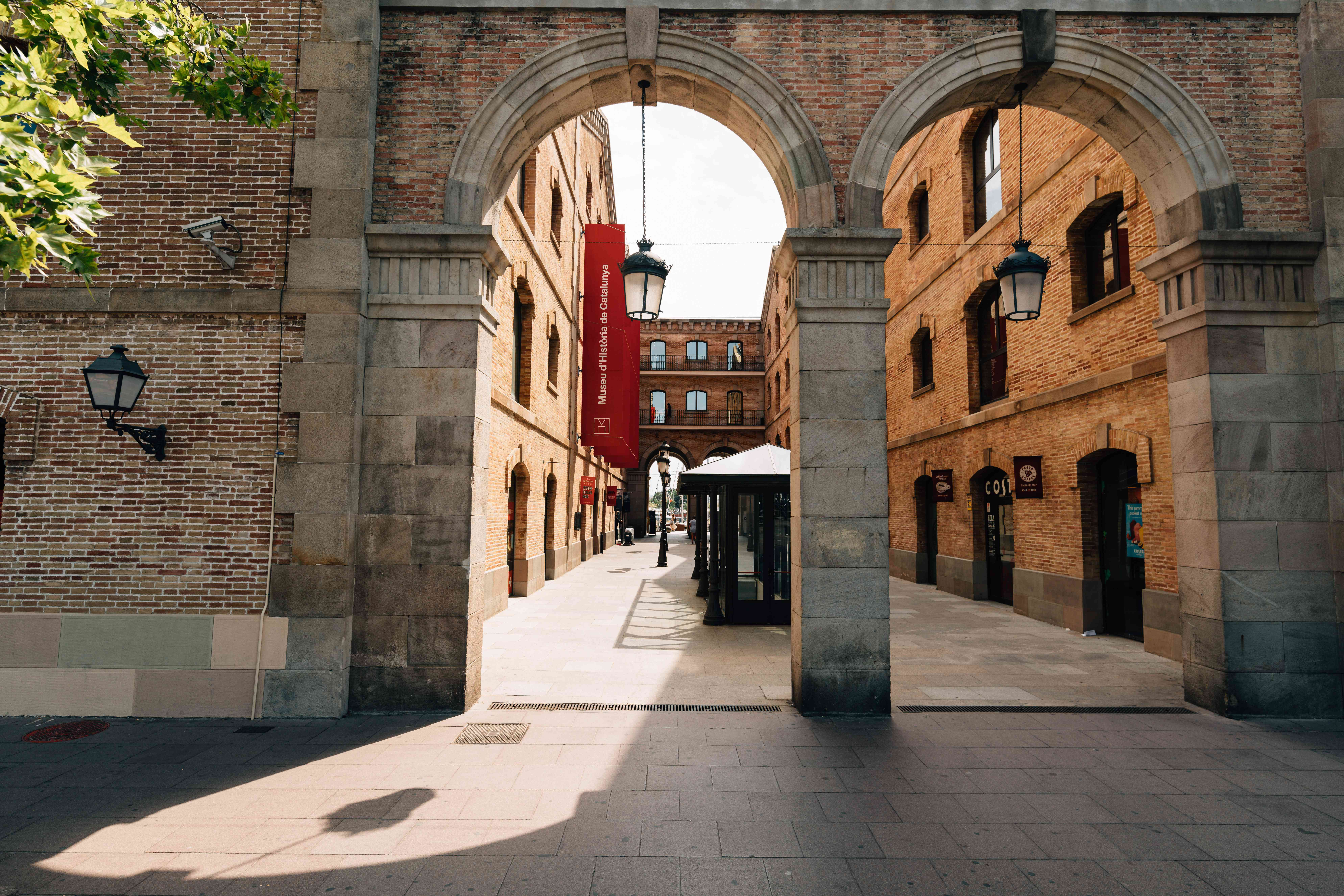 Entrance to the Catalonia History Museum