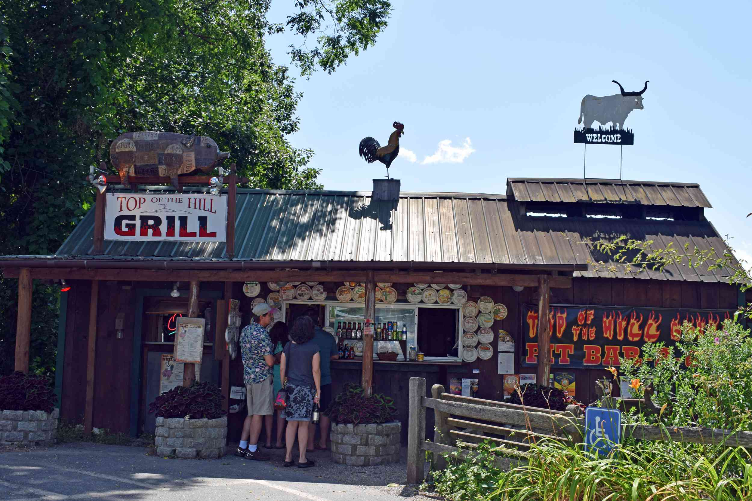 Top of the Hill Grill Brattleboro BBQ