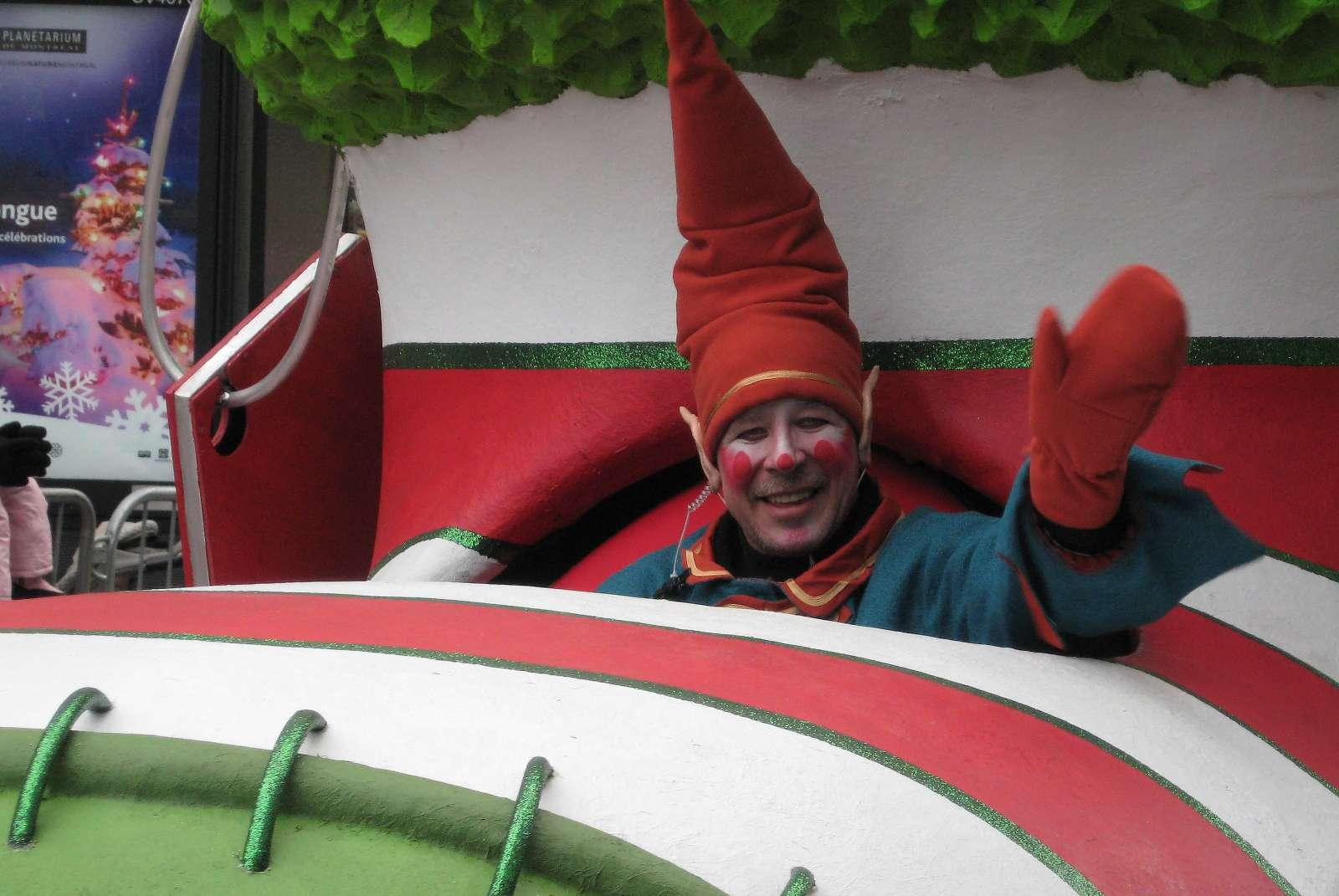 Montreal Santa Claude Parade 2014 edition