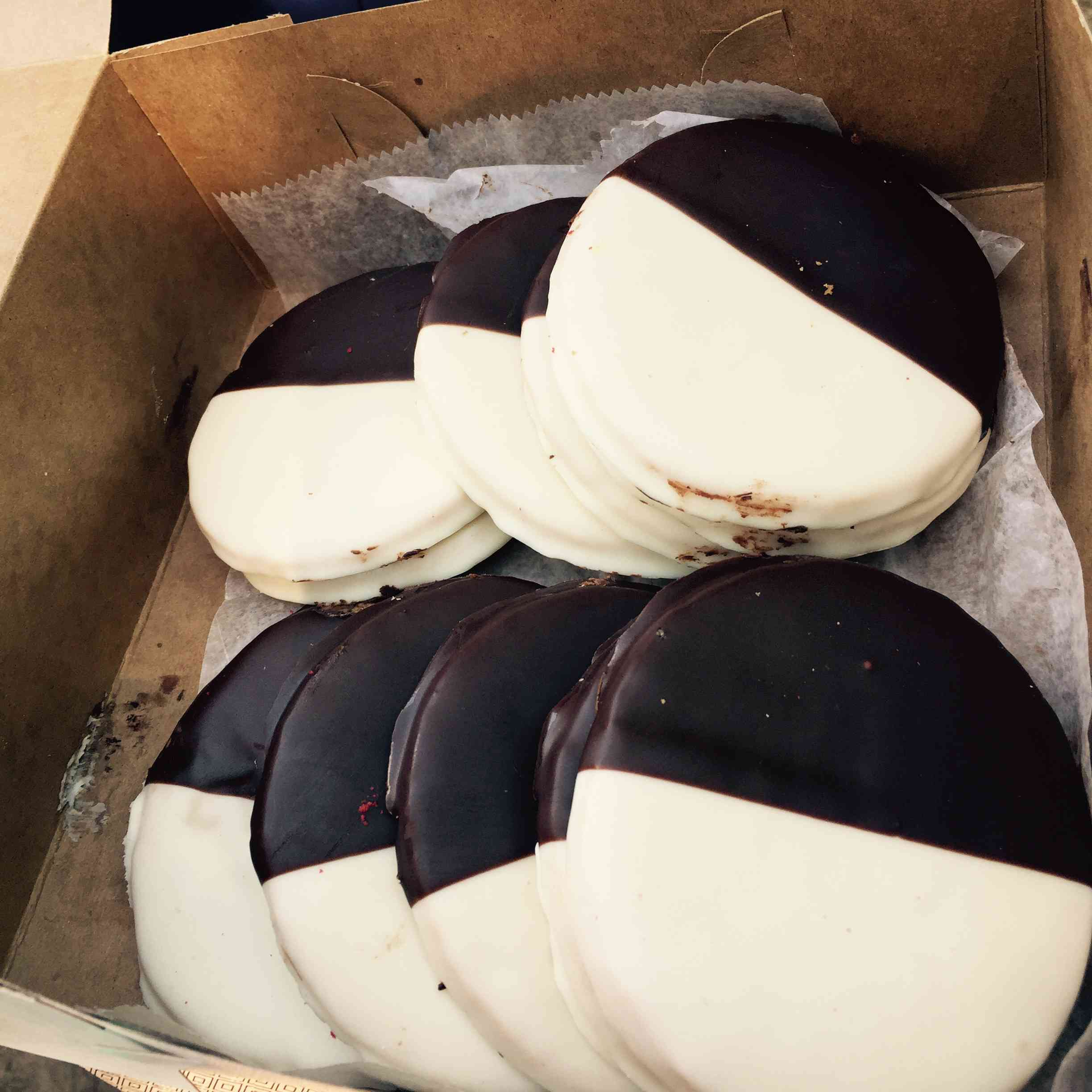 Black and White Cookies in NYC