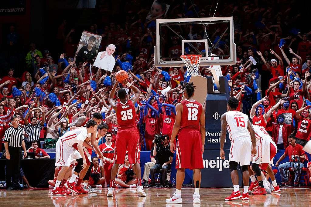 Dayton basketball at UD Arena