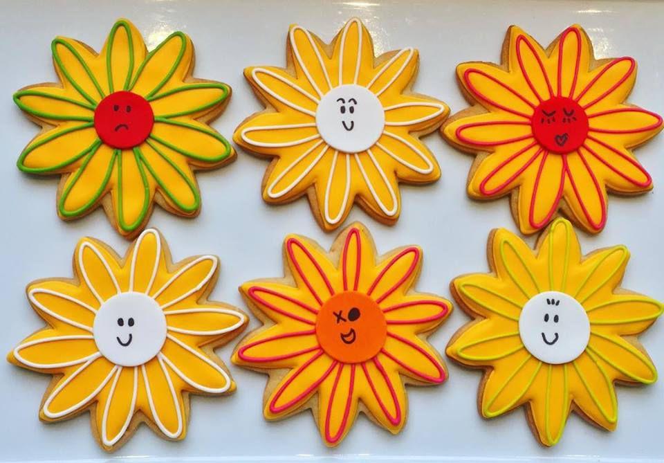 Betty Bakery daisy cookies