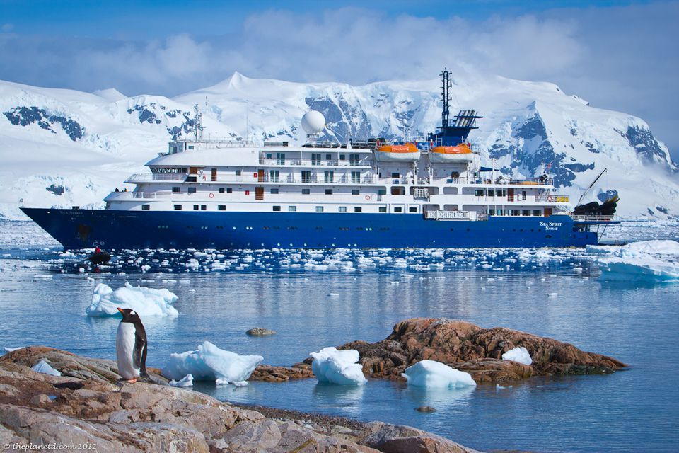 Sea Spirit Quark Expeditions in Antarctica