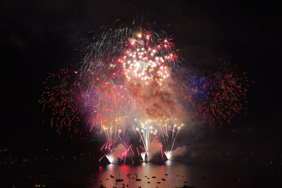 Fireworks Lake Tahoe