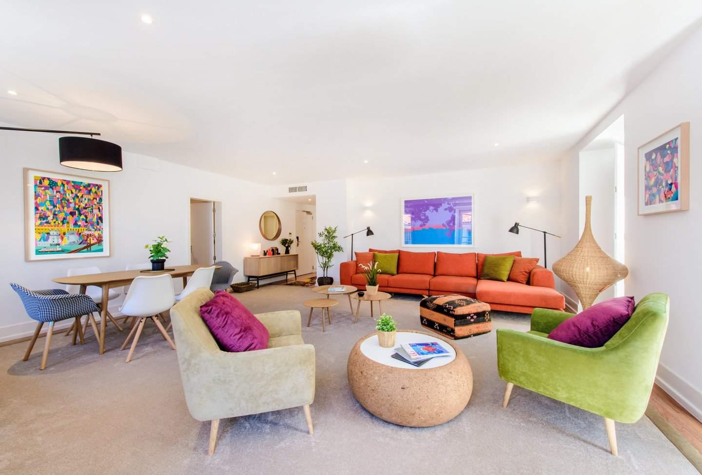 Die 2-Zimmer Wohnzimmer im Martinhal Lissabon