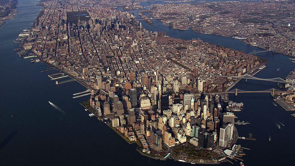 Manhattan, Aerial America