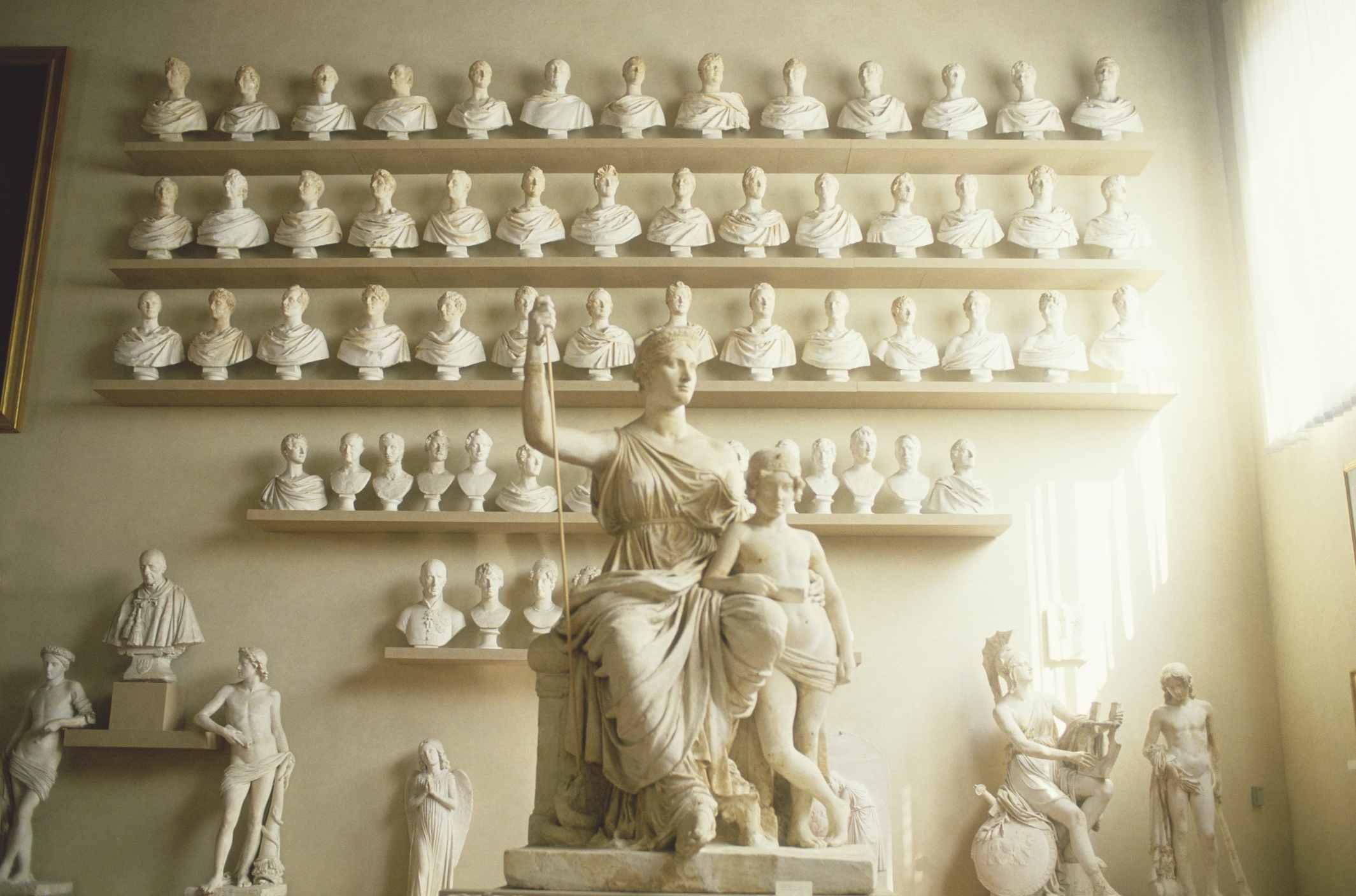 The Galleria dell' Academia