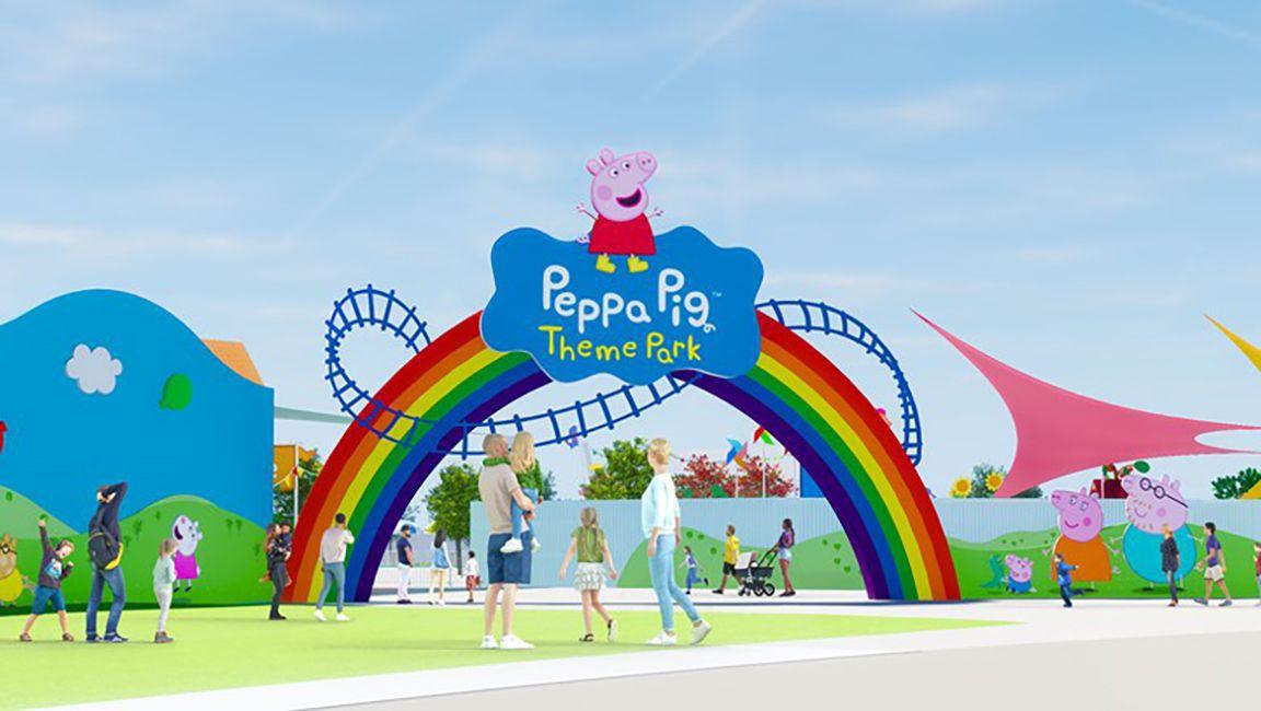 Peppa Pig Theme Park at Legoland Florida preview