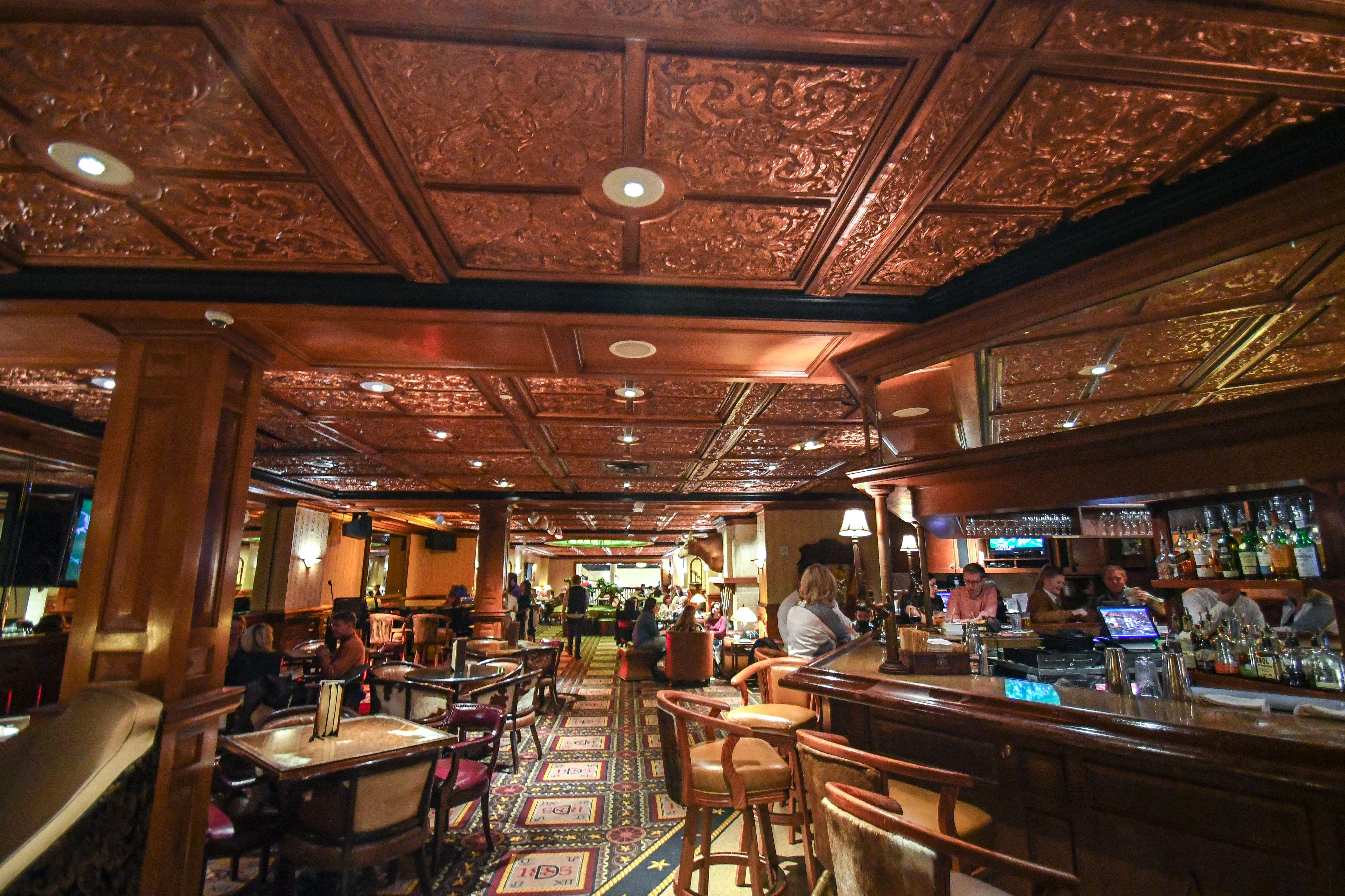 El interior del bar Driskill