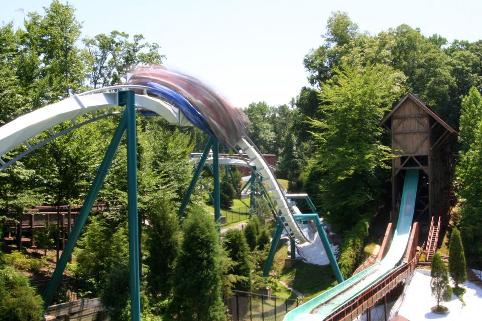 Alpengeist and Le Scoot, Busch Gardens, Williamsburg, Virginia