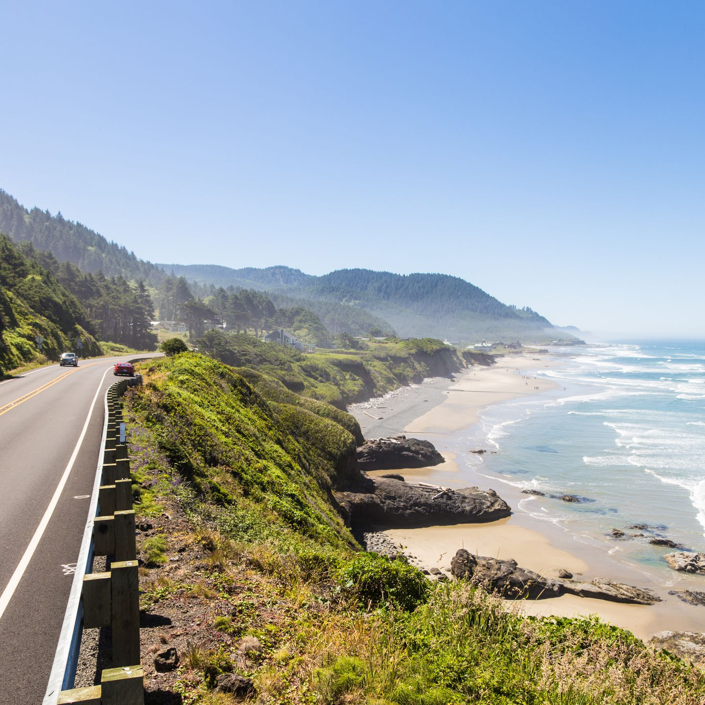 Los Angeles to San Francisco on the Pacific Coast Highway