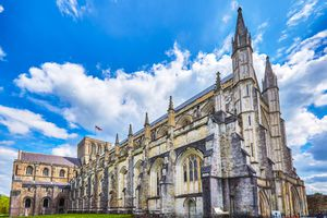 Winchester Gothic Cathedral, England