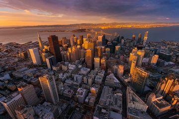 Aerial view San Francisco