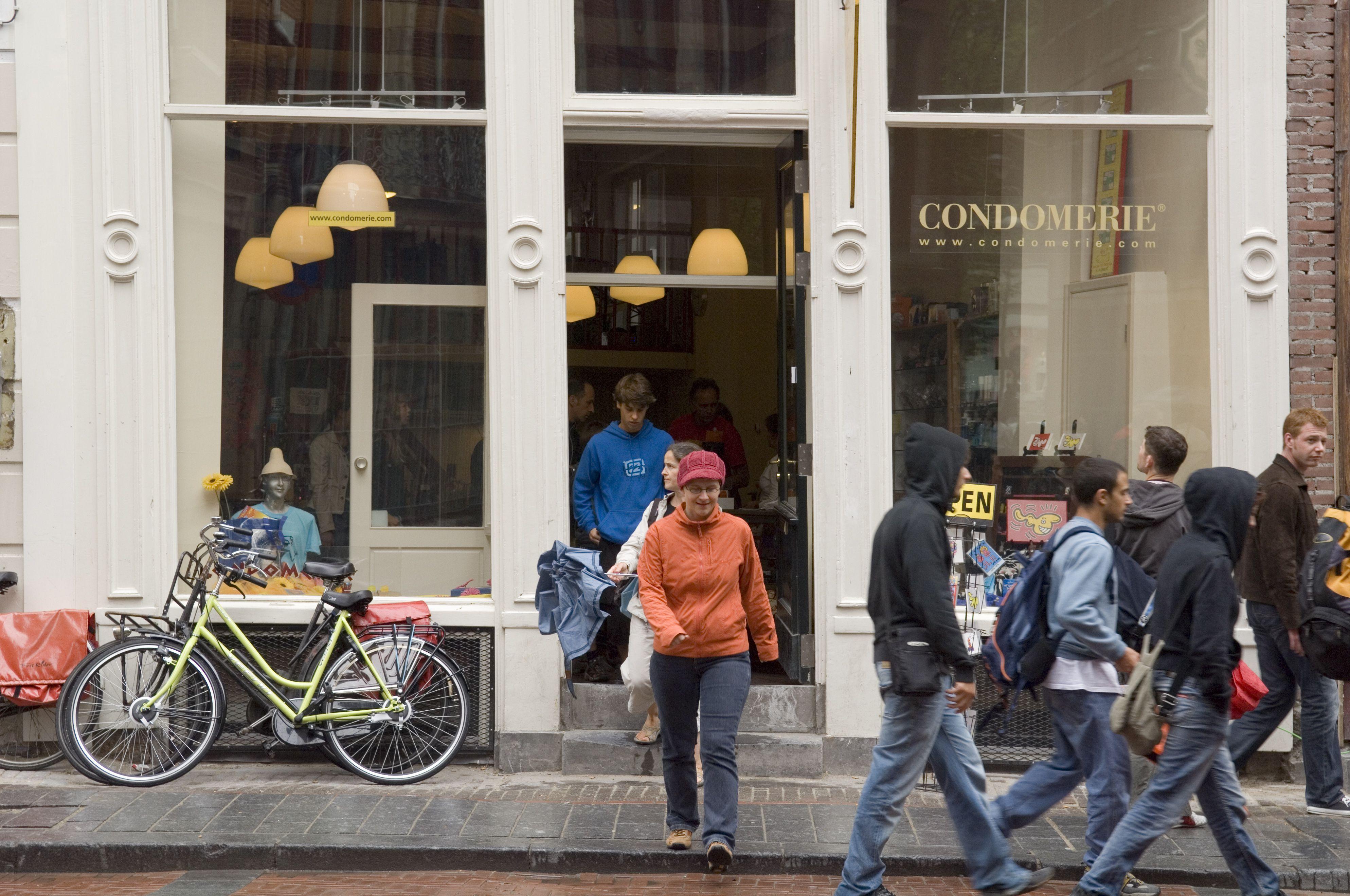 Condomerie Het Gulden Vlies novelty condom shop.