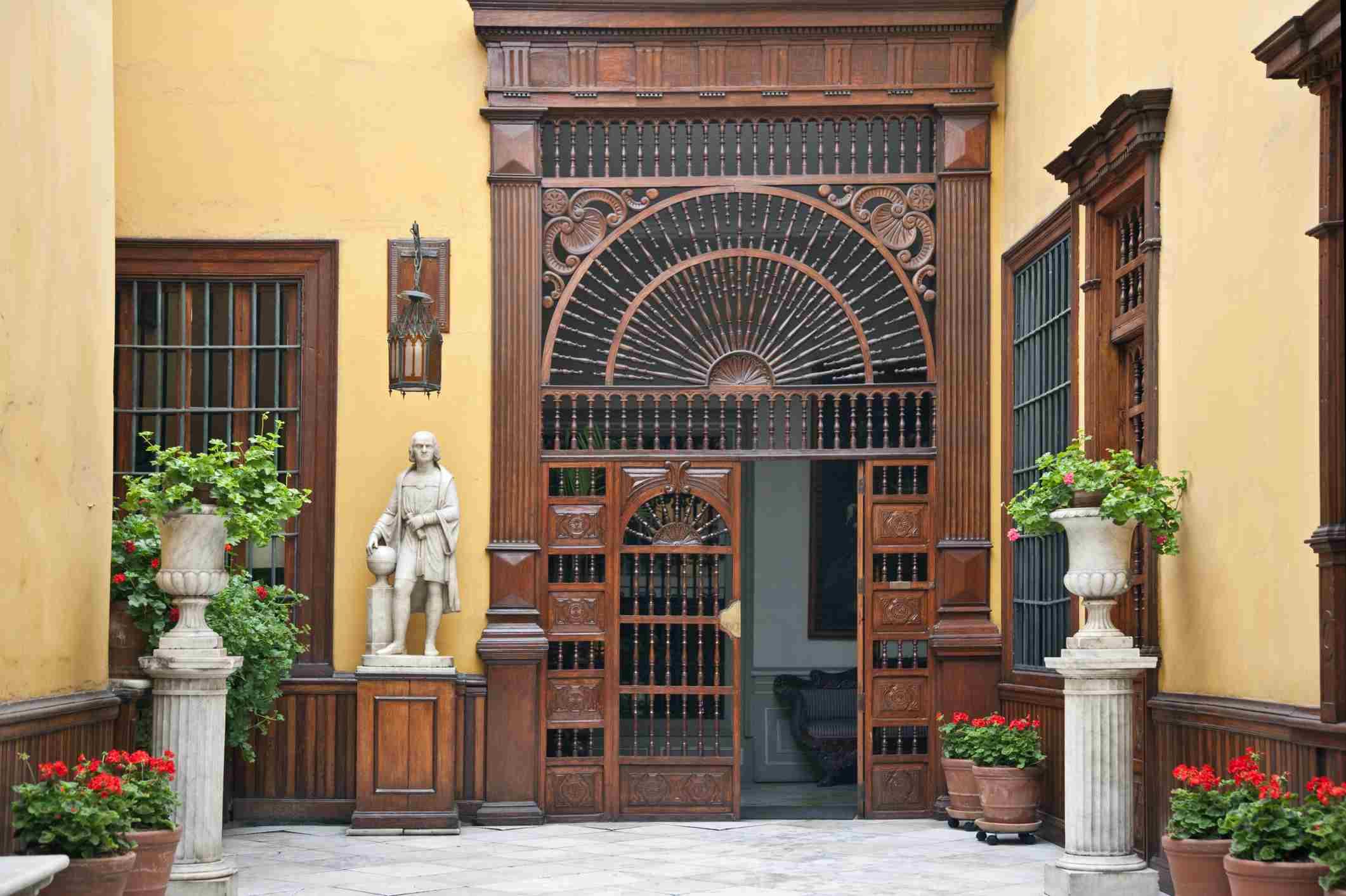 Mansiones coloniales en Lima