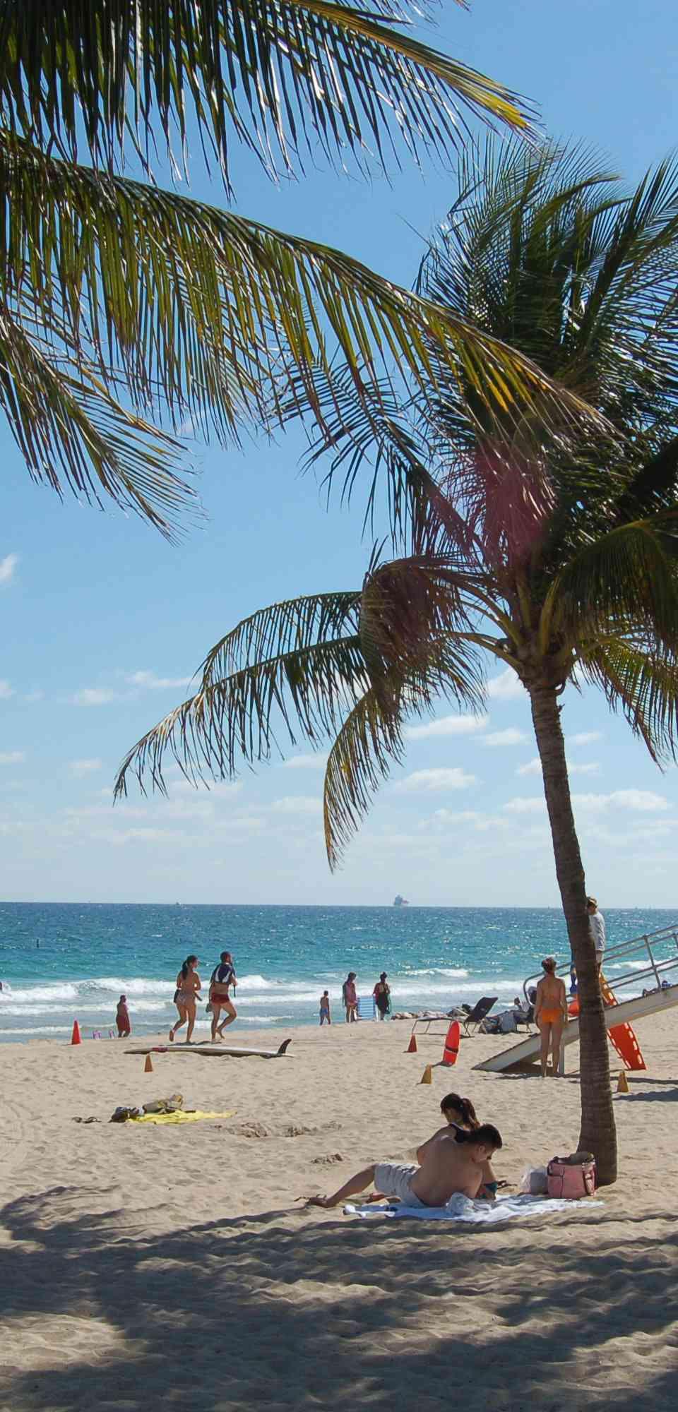 Beach in Fort Lauderdale, Florida