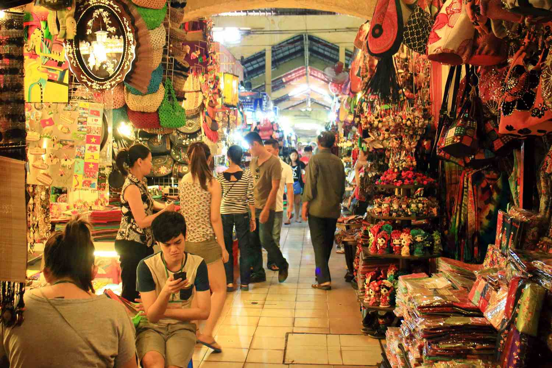 Ben Thanh Market, Saigon, Vietnam
