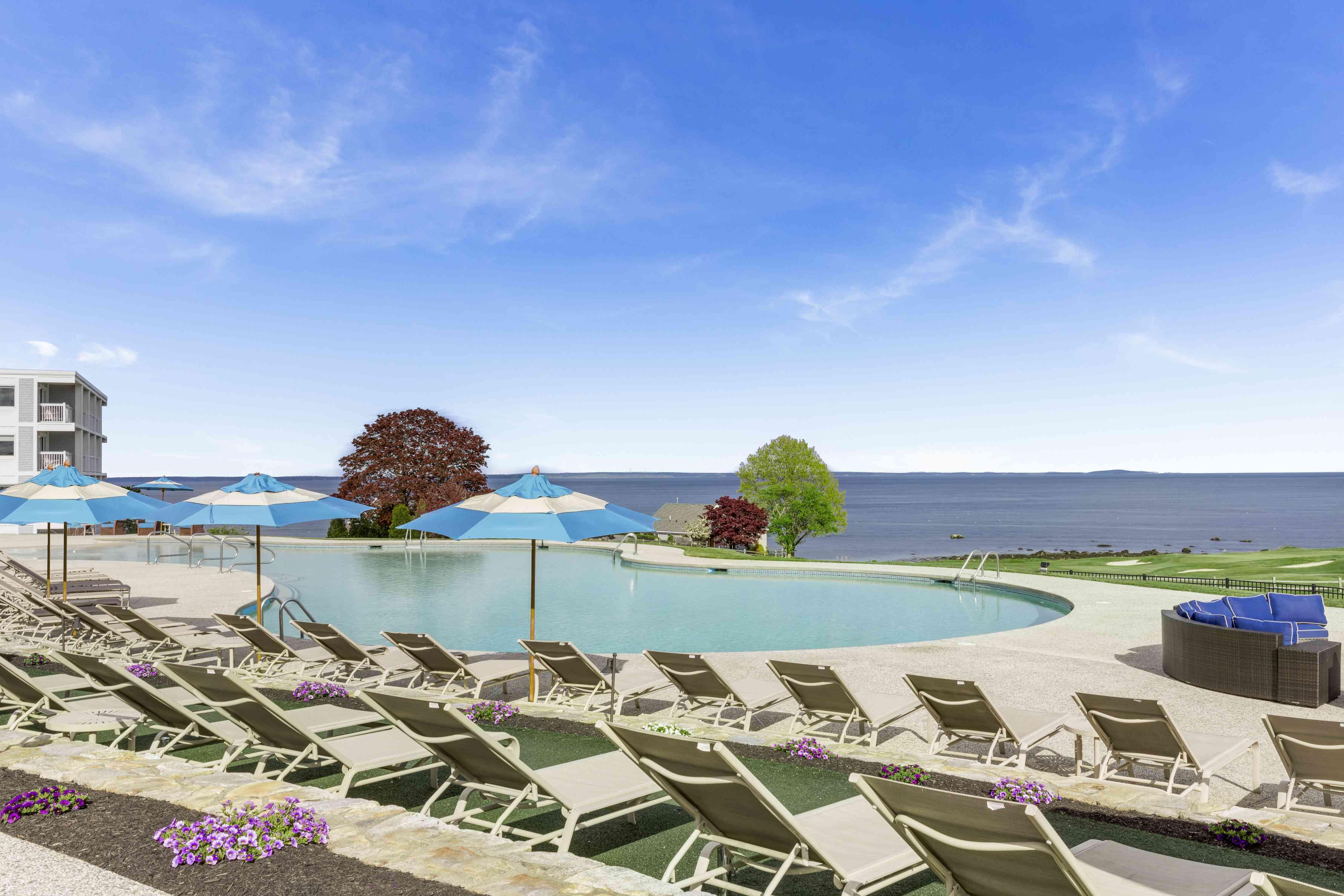 Samoset Resort Pool - Rockport Maine