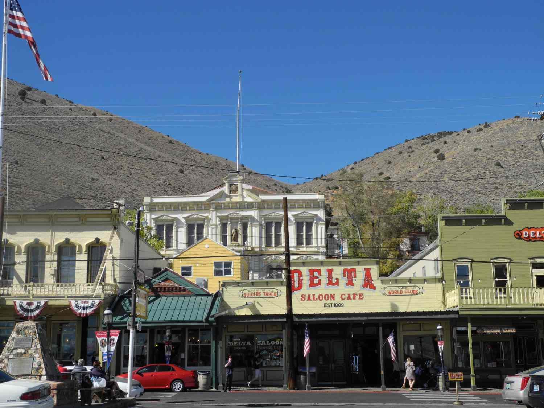 Historic Virginia City, Nevada, hogar del Comstock Lode.