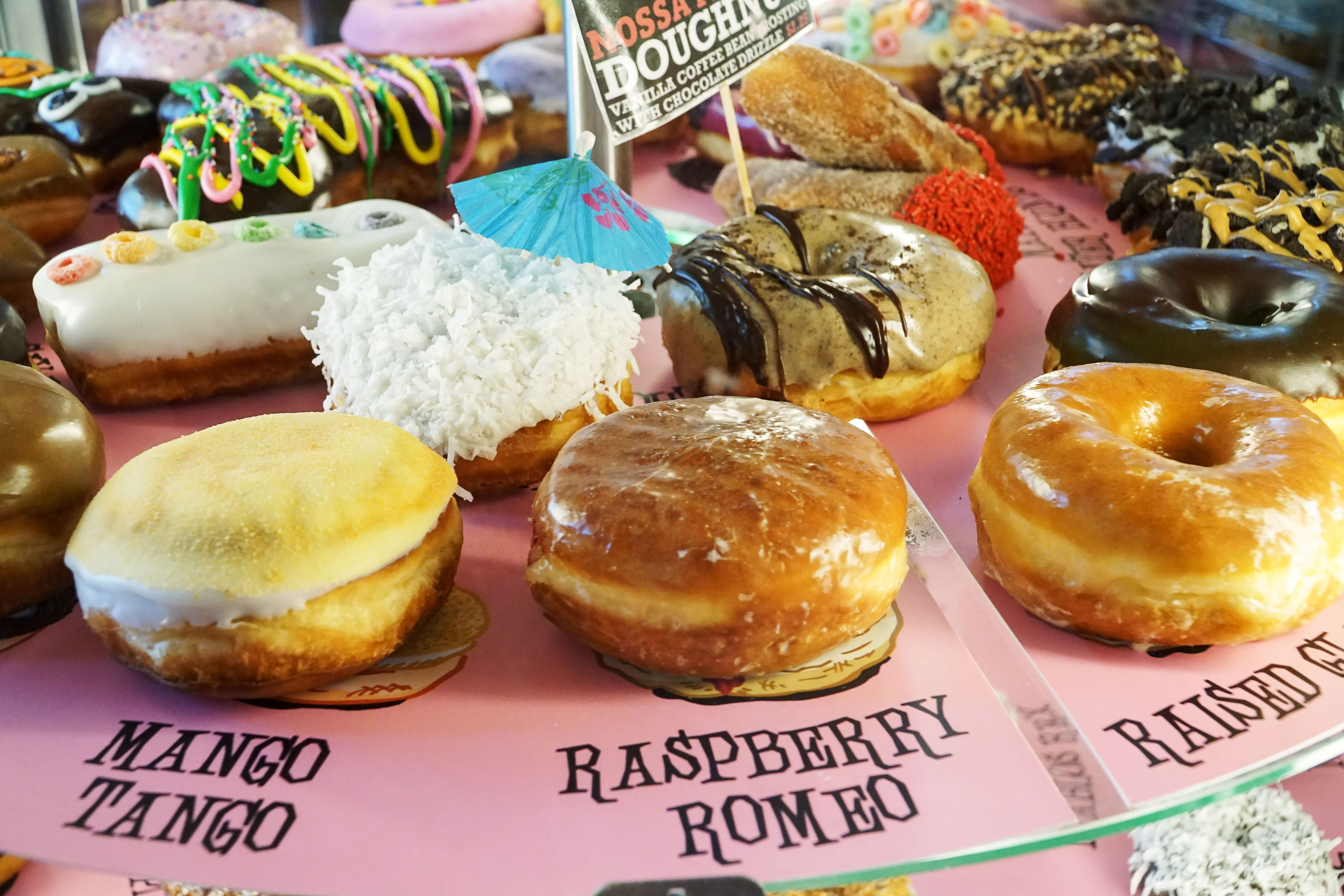 Donuts from Voodoo DOnuts
