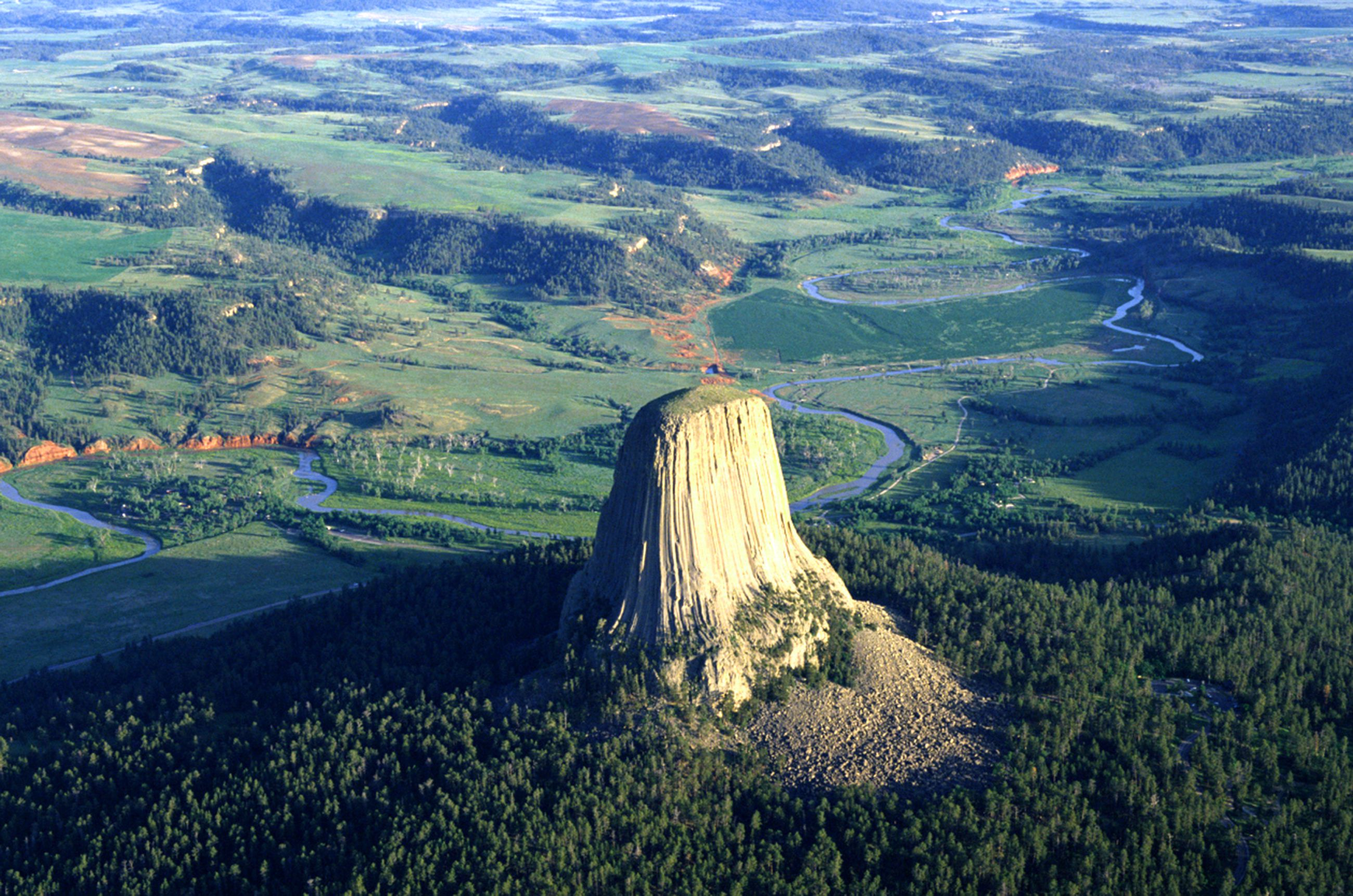 devilstowerairWY-56a3fc273df78cf772803a61 Map With All Of The Major Attractions United States on