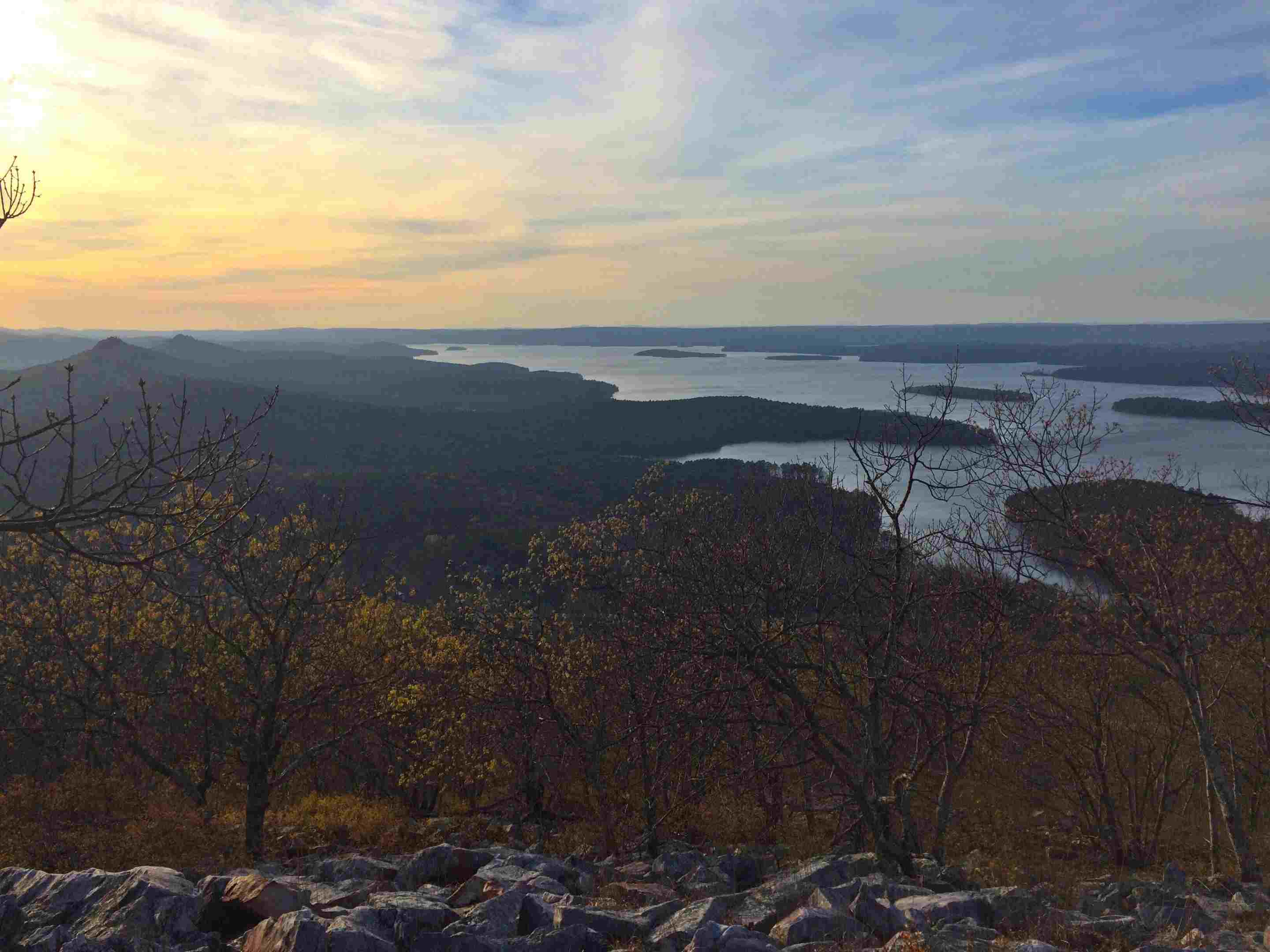 View of Maumelle Park from Pinnacle Mountain