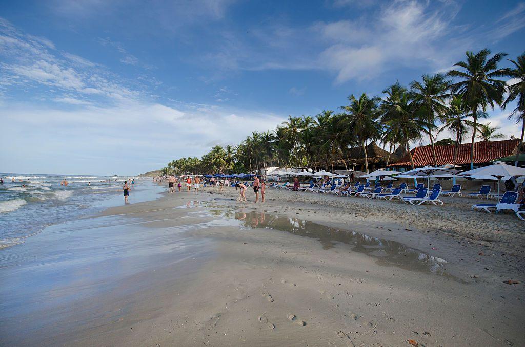 Summer Fun Playa El Agua. Margarita Island, Venezuela.
