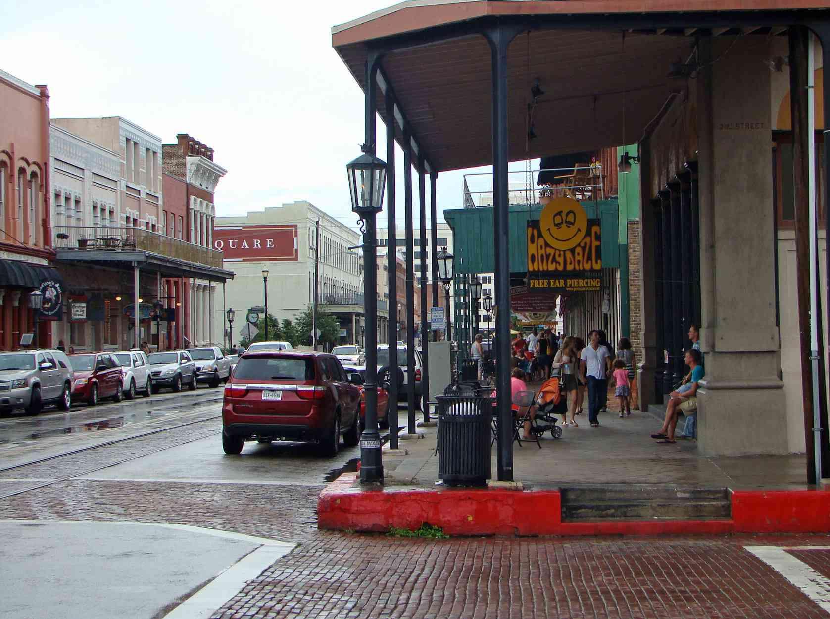 The Strand, Galveston, Texas