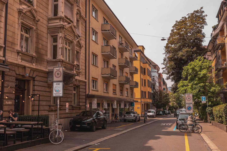 Seefeld in Zurich, Switzerland