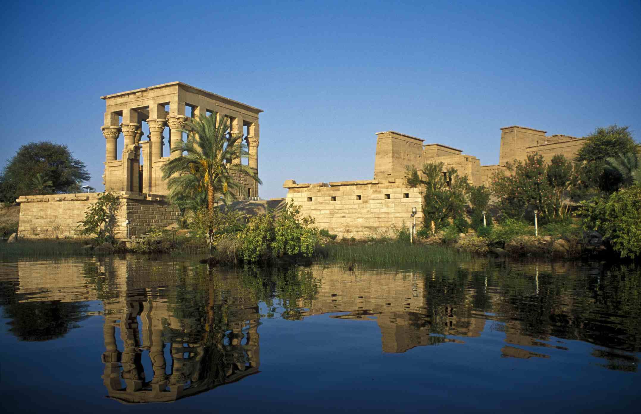 Philae temple complex, Egypt