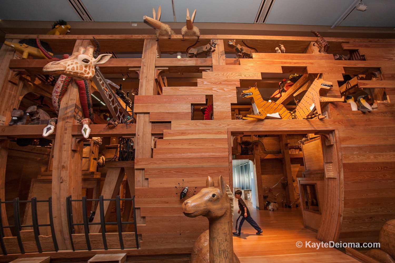 Arca de Noé en el Skirball Center