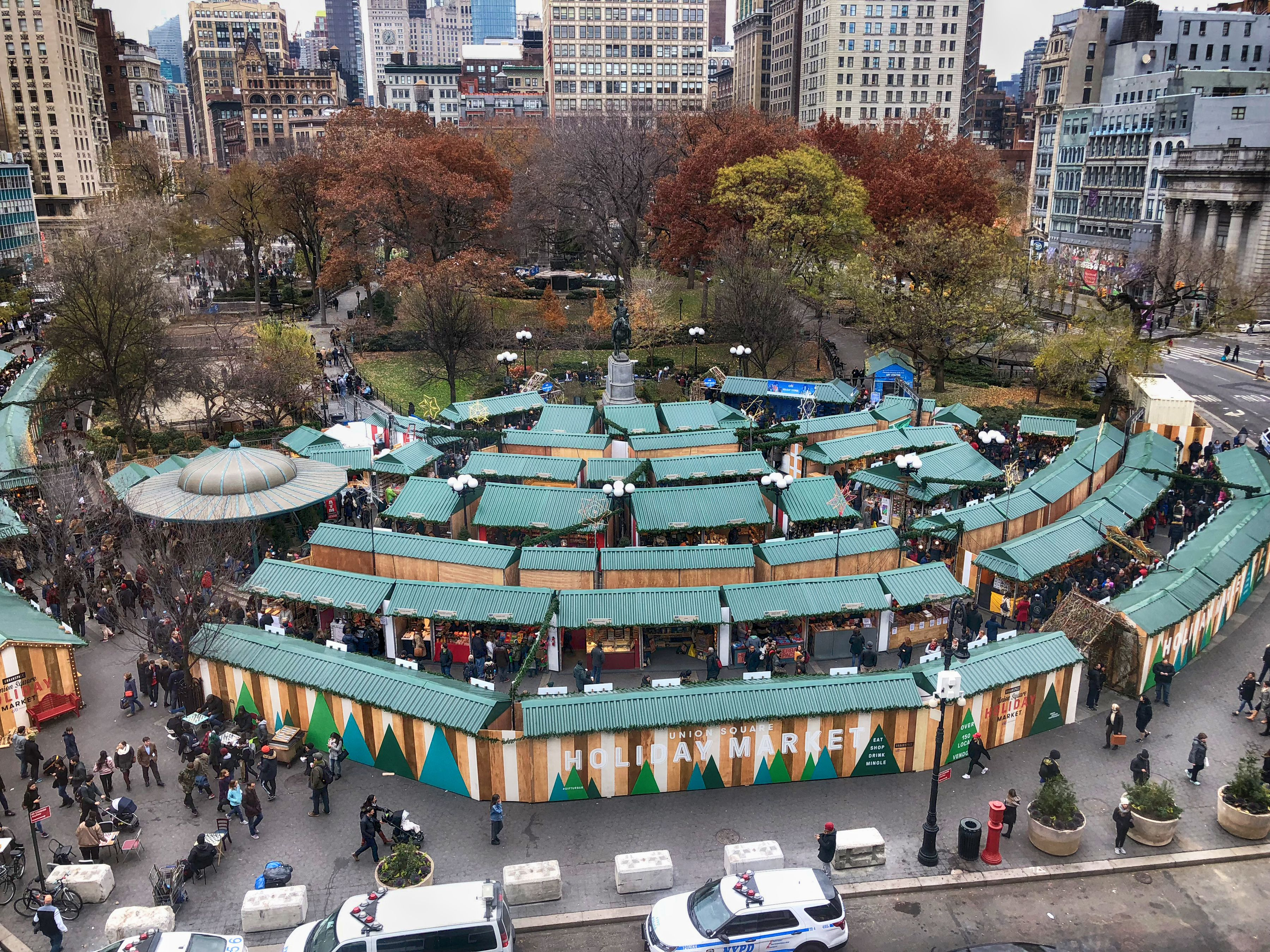 Union Square Park in New York City, New York