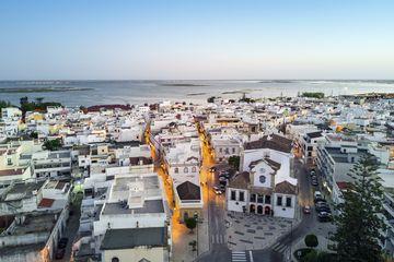 Traditional portuguese village of Olhao, Algarve, Portugal