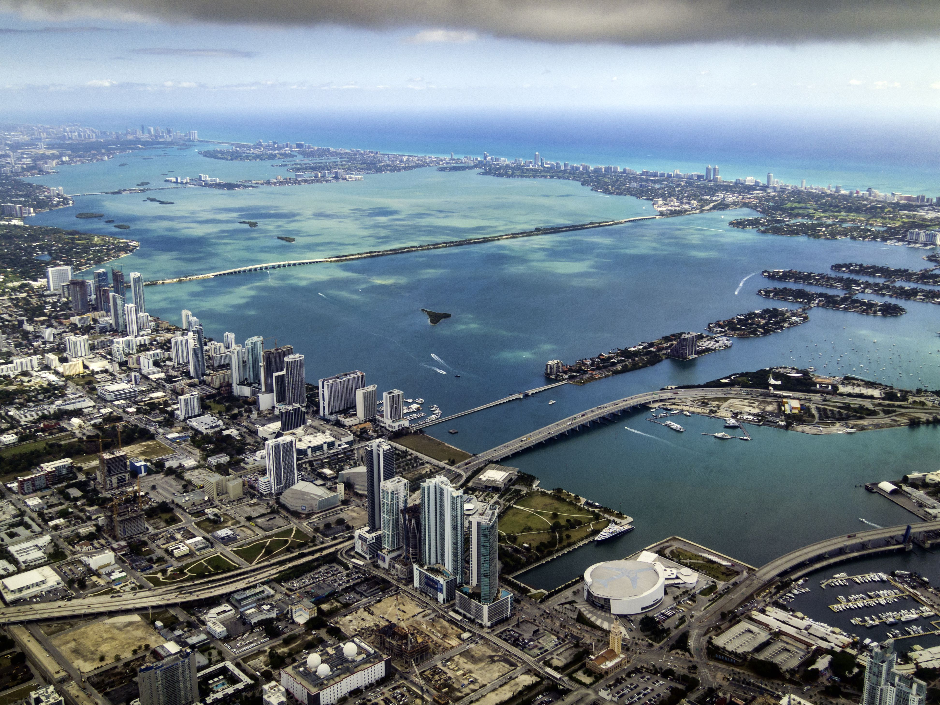 Miami and Biscayne Bay Aerial