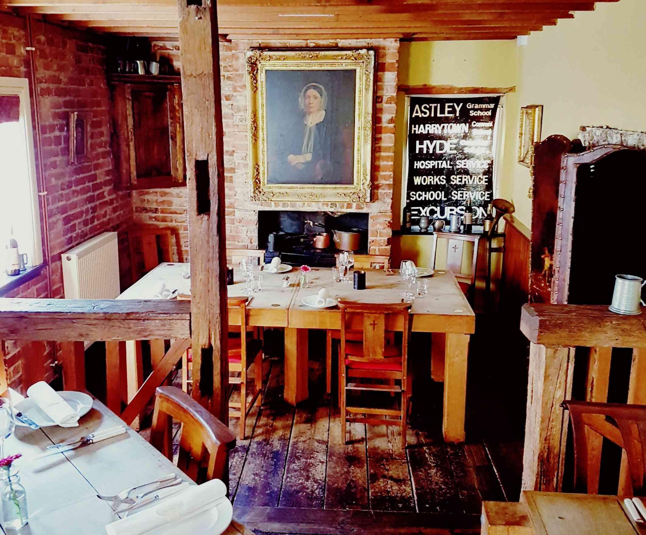 The Black Rat restaurant in Winchester