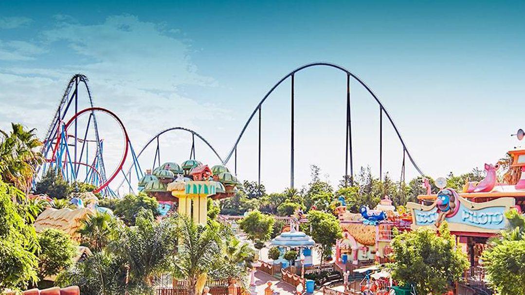 Portaventura Spain Theme Park Featuring Ferrari Land