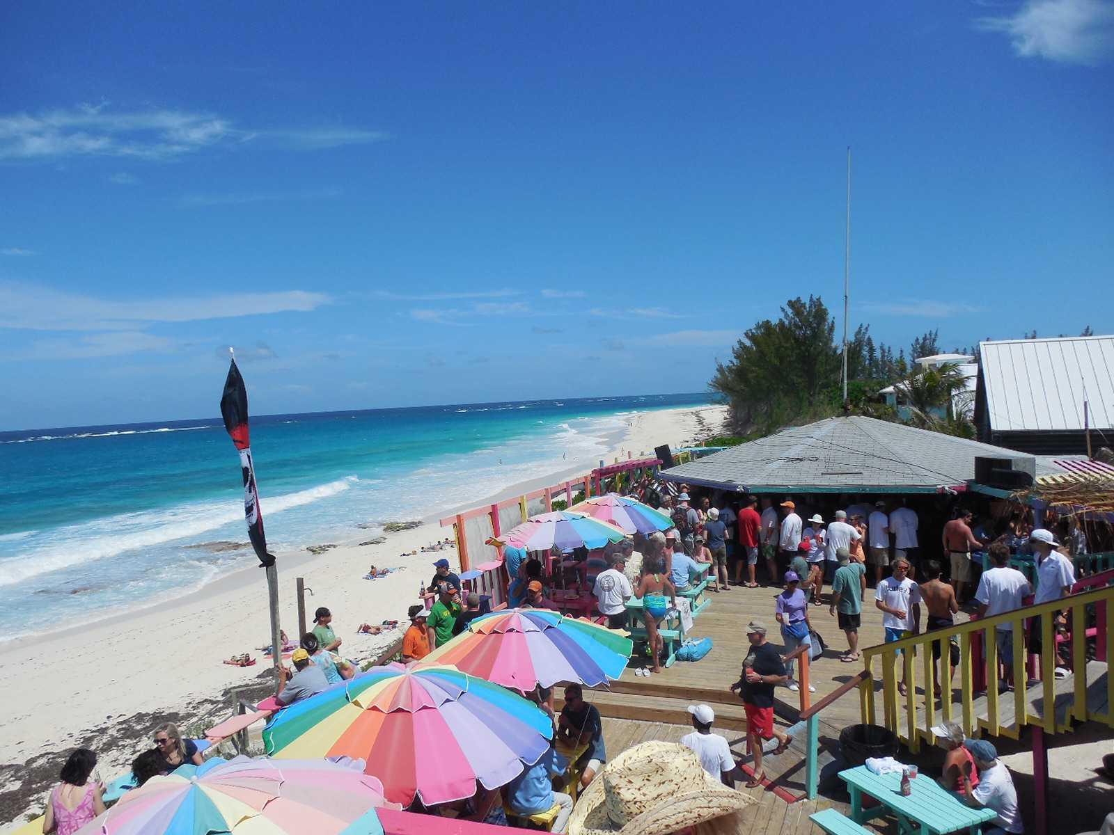 Nipper's Bar on Guana Cay in the Bahamas