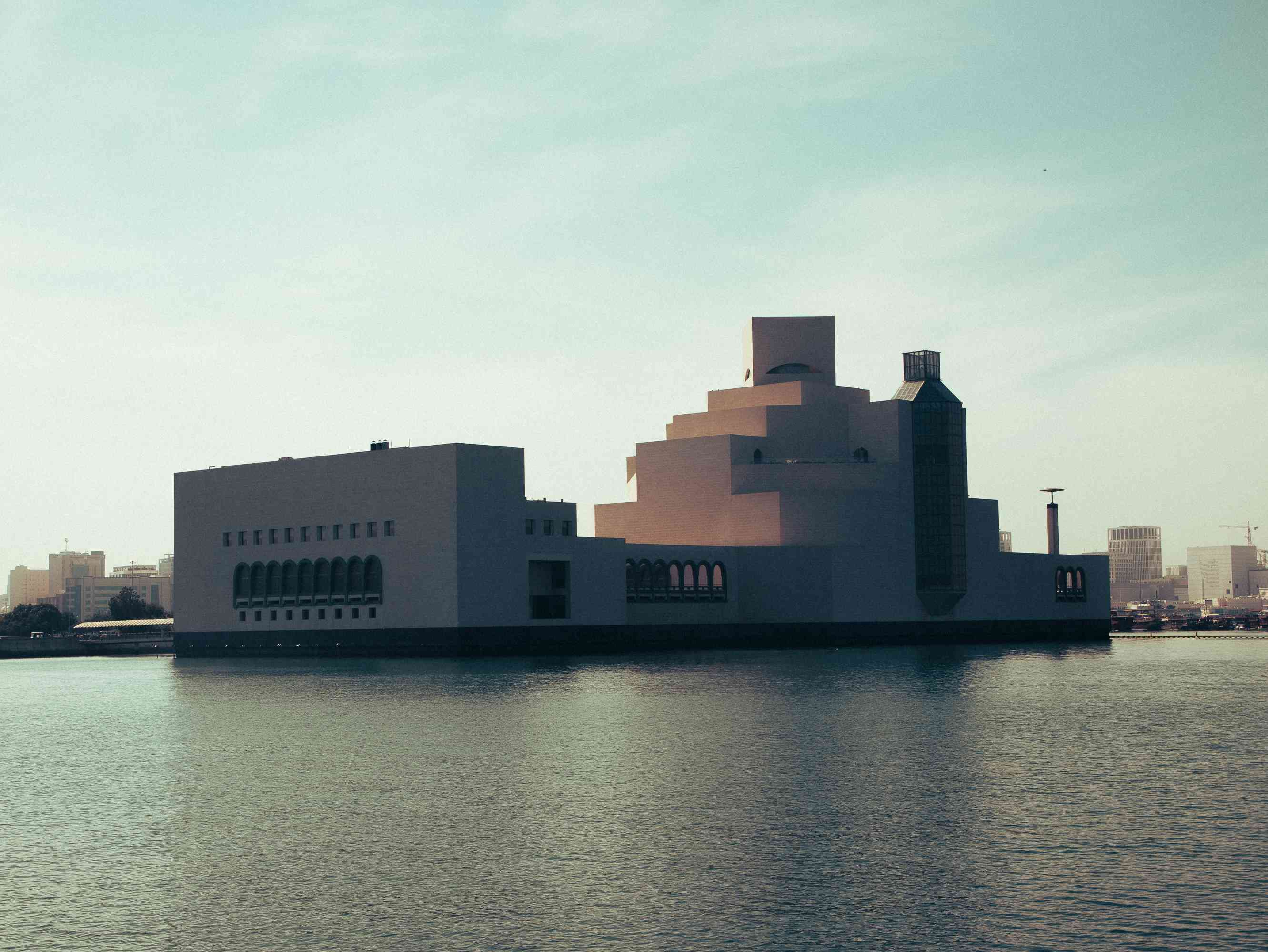 Exterior of the Museum of Islamic Art in Doha